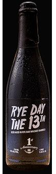 RYE DAY the 13th barley wine beer