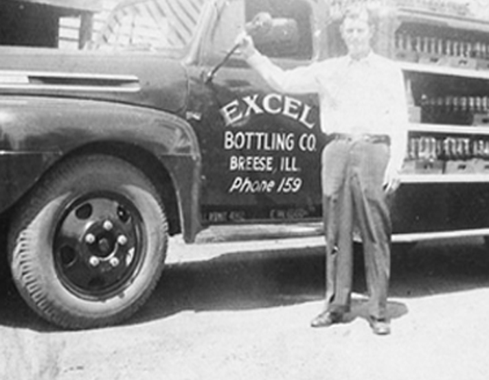 Excel Bottling soda and beer in Breese, Illinois