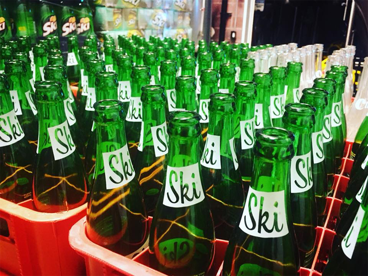 Excel bottling Ski soda